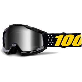 100% Accuri Anti Fog Mirror Goggles gul/sort